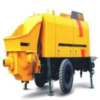 Concrete Trailer Pump Manufacturers
