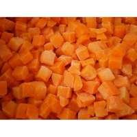 冷冻切丁的胡萝卜 制造商