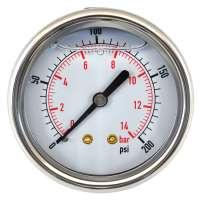 Glycerin Filled Pressure Gauge Manufacturers