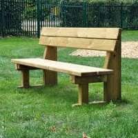 木制公园长椅 制造商