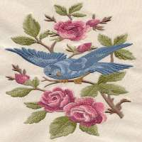 Machine Embroidered Fabrics Manufacturers
