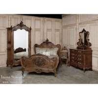 古色古香的卧室套 制造商