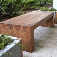 木制户外长椅 制造商