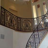 Wrought Iron Rails Importers