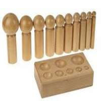 Wooden Dapping Punch Set Manufacturers