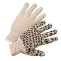 PVC点缀工作手套 制造商