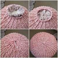 钩针编织坐垫 制造商