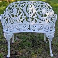 铁花园长凳 制造商