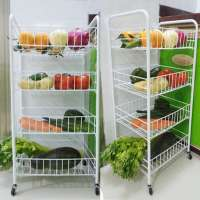 Vegetable Rack Trolley Manufacturers