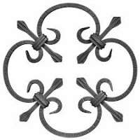 Wrought Iron Rosettes Importers