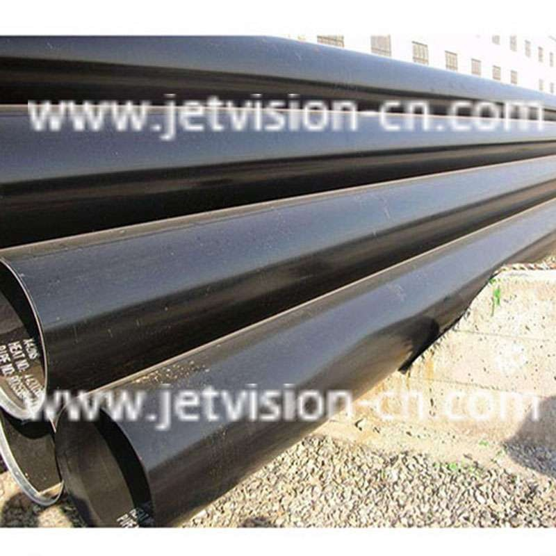 Anti-corrosion Coating Tube Q235 Carbon Welded LSAW Steel Pipe