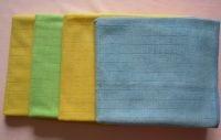Lattice Circular Knitted Microfiber Towel