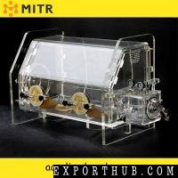 Radiationproof vacuum glove box desk type vacuum glove box