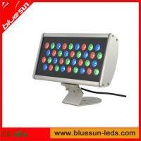 LED Wall Washer RGB Silver Finish RGB DMX